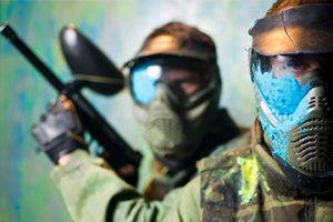 ROJSTNI DNEVI Extreme indoor paintball
